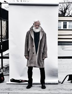 Photographer MATHEW GUIDO and stylist Mark John Tripp celebrate the timelessness of French house Hermès, portraying the ageless beauty of both the establishment that is Hermès, and the sempiternal features of model Paul Mason.