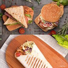 Вы просили их вернуть? Встречайте! Сочная шаурма с курицей и овощами, аппетитный Сэндвич с телятиной и сытный Бургер с куриной грудкой и беконом снова ждут вас в наших кофейнях.  #бургеры #сэндвичи #шаурма #burger #кофехауз