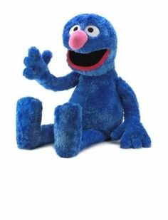 25 inches tall SESAME ST. JUMBO GROVER PLUSH closeout!!!