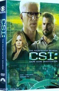 CSI:Crime Scene Investigation The Fourteenth Season 14 (DVD,2014,6-Disc Set)