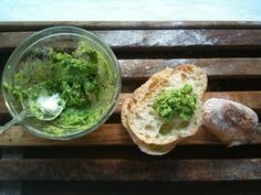 our fabulous ramp butter recipe + an essential way to cook ramps