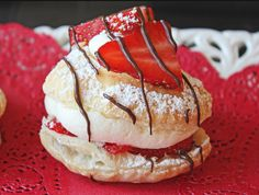 Strawberry and Cream Napoleons