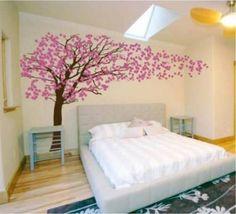 .decoracion dormitorio matrimonio con vinilos