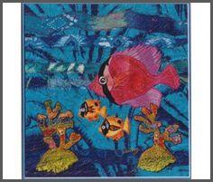 Textile Fibre Art stitched by Caroline Sharkey www.carolinesharkey.com.au