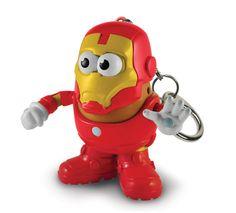 Marvel Mr Potato Head Porte-clés Mini-Figurine-Iron Man War Machine