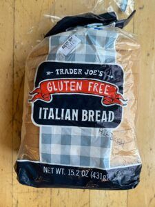 Trader Joe's Gluten Free Italian Bread Review - Trader Joe's has a wide variety of Glute Free products in their stores. The amount of Glute Free products has exploded in the past couple of years. One of the biggest areas in their stores is the bread section. #bread #glutenfree #glutenfree #traderjoes #traderjoes Bread Toast, Bread Mix, Hard Bread, Psyllium Husk Powder, Bread Bags, Italian Bread, Whole Grain Bread, Gluten Free Flour, Trader Joe's