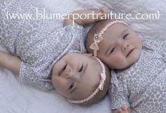 Twin Love    {Blumer Portraiture | Mt. Pleasant, MI  Photographer}  www.blumerportraiture.com