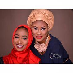 Two beautiful ladies Pic via @mekkyaj_fandy #Muslim #hijabi #makeup #cute