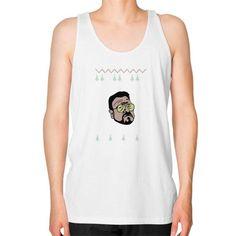 Fashions waltershabbos Unisex Fine Jersey Tank (on man)