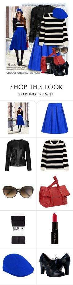 """""""CHOOSE UNEXPECTED HUES"""" by fashion-architect-style ❤ liked on Polyvore featuring Oris, M&S Collection, The Kooples, Victoria Beckham, SHARO, H&M, Smashbox, kangol, women's clothing and women's fashion"""