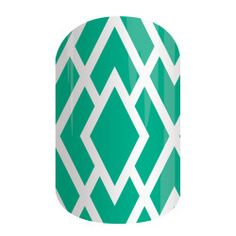 Aqua Modern Diamond | Jamberry #TBT only available until Monday get it before it's gone  ericadangler.jamberry.com