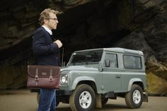 Discover the British made Marton Messenger bag at www.acassi.co.uk  Made from Leather and Tweed.