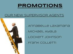 You want a promotion? It's up to you! You want it, you'll get it!