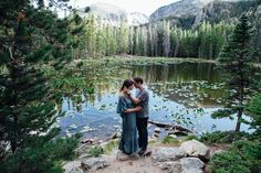 Dream Lake Engagement Shoot with Holly & Dylan | Tayler Carlisle Photography | Rocky Mountain National Park | Estes Park, Colorado | Boho style | Free People Dress | www.taylercarlisle.com/blog | tayler.carlisle@gmail.com | Engagement Photos | Engaged |