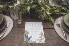 A botanical organic wedding at the Italian seaside, Liguria. Wedding Planner: Roberta Cavaliere - Artefice di momenti felici (www. Wedding Menu, Garden Wedding, Wedding Planner, Dream Wedding, Wedding Invitation Cards, Wedding Stationery, Wedding Theme Inspiration, Botanical Wedding, Color Of The Year