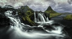 Kirkjufell by George Thalassinos - Photo 235853265 / Photos Of The Week, Landscape Photography, Travel Photography, Iceland, The Good Place, Waterfall, Tours, Day, Nature