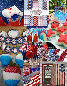Cupcake With Character: July 4th Inspiration Board