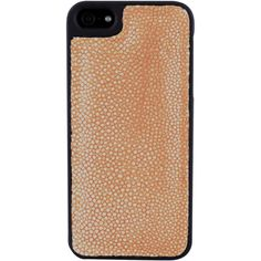 Exotic Skin Cover iPhone 5 (€195) ❤ liked on Polyvore featuring accessories, tech accessories, iphone 5 case, iphone 5s case, iphone case, orange iphone 5 case, orange iphone 5s case, apple iphone cases and iphone cover case