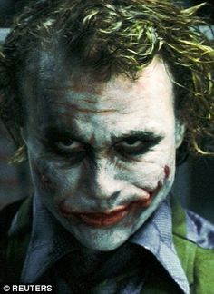 Image result for heath ledger joker