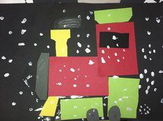 Ms. Solano's Kindergarten Class polar express