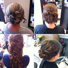Wedding updos Wedding Up Do, Updos, Hair Makeup, Dreadlocks, Hairstyles, Beauty, Up Dos, Haircuts, Beleza