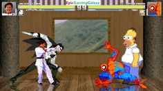 Spider-Man And Homer Simpson VS Jackie Chan And Jeff The Killer In A MUGEN Match / Battle / Fight This video showcases Gameplay of Jeff The Killer From Creepypasta And Jackie Chan The Martial Artist VS Homer Simpson From The Simpsons Series And Spider-Man The Superhero In A MUGEN Match / Battle / Fight