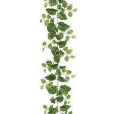 Puff pothos garland, 6' Artificial Garland, Artificial Plants, Shipping Box Sizes, Corn Stalks, Artificial Floral Arrangements, Asparagus Fern, Decorative Planters, Spanish Moss, Dusty Miller