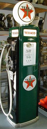 Texaco Gas Pump - want to get this tattooed for my pa
