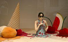 """i'm melting"" - exhibit show ""100 degrees"" by richard ewen  -   Paris Through My Lens"