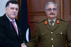 Haftar to meet UN backed PM Fayez for Libya peace talks in Paris