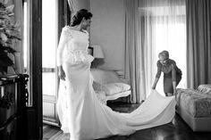 Vestido de novia - Peplum - 2. Roberto Diz