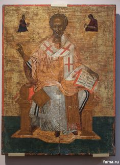 Prayerful intercessor for those in need, St. Nicholas is fervently and sincerely loved by people on all continents. You will hardly find a single Orthodox church anywhere that does not have a fresco or icon with his image. Byzantine Icons, Byzantine Art, Black Santa, Best Icons, Black History Facts, Saint Nicholas, Religious Icons, Orthodox Icons, Dark Ages