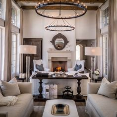 From a recent project in San Antonio- I think layers add richness and maybe the single most powerful thing to transform a room are draperies...