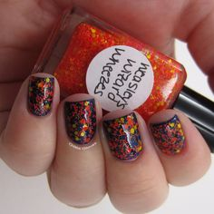Harry Potter inspired nail polish