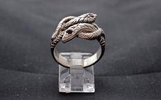 Grande Spirale Queue de dragon 3D .925 Solide Argent Sterling Pendentif Made in USA