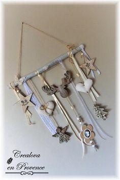 Guirlande de Noël PE en fausse fourrure Décoration givré Eucalyptus /& Baies Lights 4fun