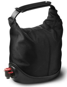 """Portable and potable: Jakob Wagner's """"Baggy Winecoat"""" is perfect for on-the-go parties, picnics, or, you know, just toting around for a quick swig if you ever find yourself in a pinch."""