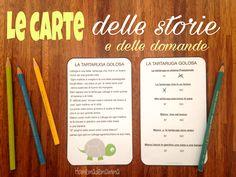 carte per comprensione testi italiano