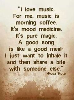 Good music quote