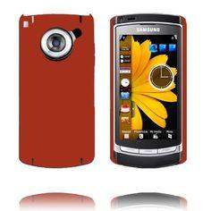 Hard Shell (Oransje) Samsung i8910 Omnia HD Deksel