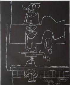 """Le Corbusier (1887-1965) """"série Panurge"""" No 1961/62. 1"""