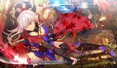 Post with 2546 views. Fate Zero Kiritsugu, Katana Girl, Fate Stay Night Series, Cool Anime Pictures, Miyamoto Musashi, Bleach Art, 4th Anniversary, Fate Servants, Fate Anime Series