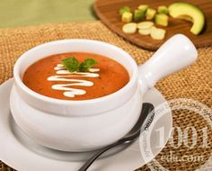 Веганский суп с томатами и фасолью
