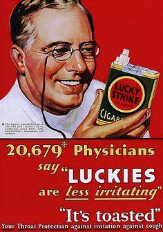 Lucky Strike, Lord, Thomas & Logan Agency, 1930