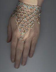 Slave Bracelet #1Pattern - Item Number 4598 at Bead-Patterns.com