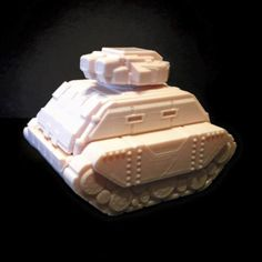 Download on https://cults3d.com #3Dprinting #Impression3D 3D Gilgamesh Pattern Battle Tank (18mm scale), Dutchmogul