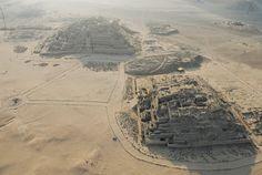 Pyramids of Caral (Pre Inca - Peru)