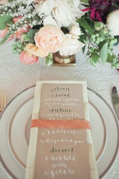 coco+kelley // calligraphy by la happy // woodnote photography