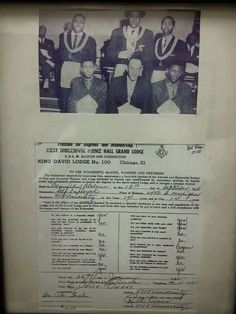 Brother Jessie Owens Initiated David Lodge, James Cleveland, Jesse Owens, Grand Lodge, King David, Brother, Prince, Jessie, Ea