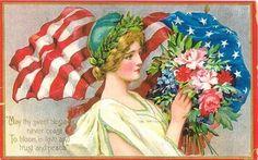 Vintage Veteran Day -  card
